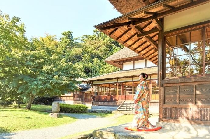横浜 三渓園 鶴翔閣(横浜市指定有形文化財)