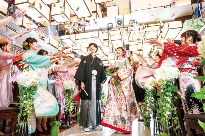 Japanese Resort Wedding SENKEI&KAHOU(ホテル泉慶・華鳳)
