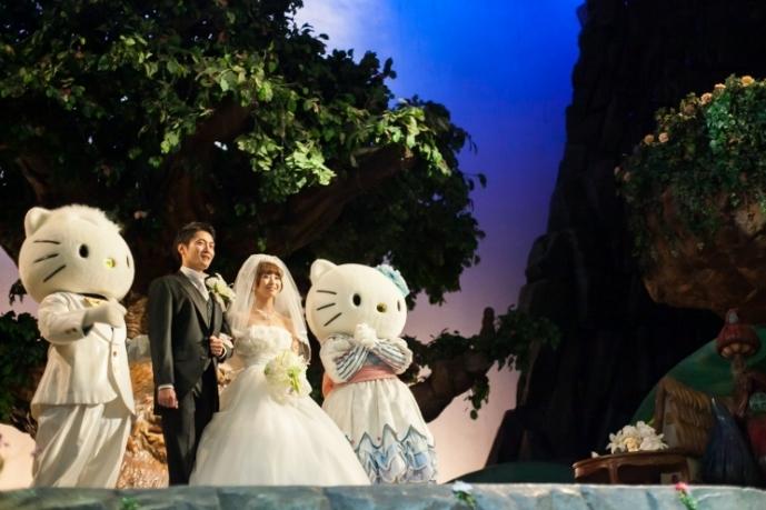 小さな結婚式 サンリオピューロランド